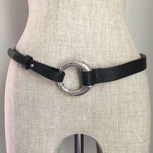 CHICOS ▪️ Black Leather Belt